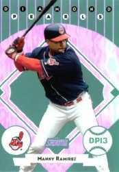 2001 Stadium Club Diamond Pearls #DP13 Manny Ramirez
