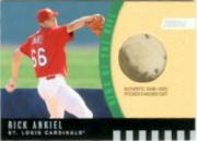 2001 Stadium Club King of the Hill Dirt Relic #KH4 Rick Ankiel ERR