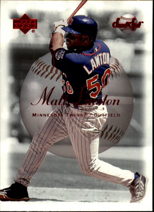 2001 Sweet Spot #23 Matt Lawton