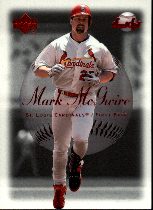 2001 Sweet Spot #36 Mark McGwire