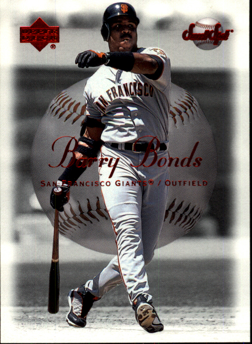 2001 Sweet Spot #45 Barry Bonds