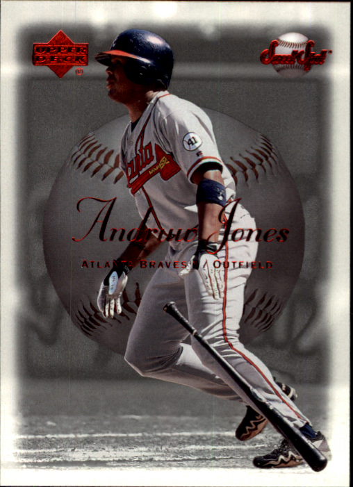 2001 Sweet Spot #106 Andruw Jones
