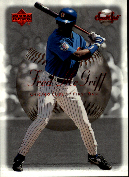 2001 Sweet Spot #109 Fred McGriff