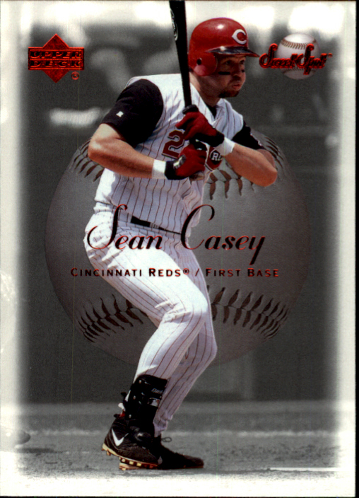 2001 Sweet Spot #119 Sean Casey