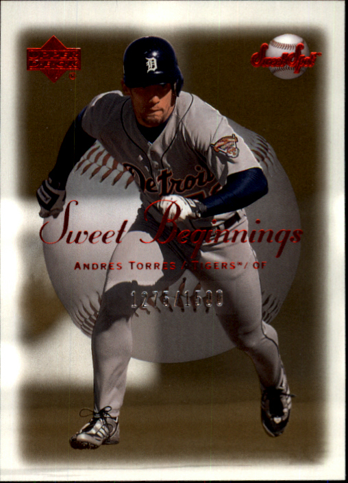 2001 Sweet Spot #130 Andres Torres SB RC