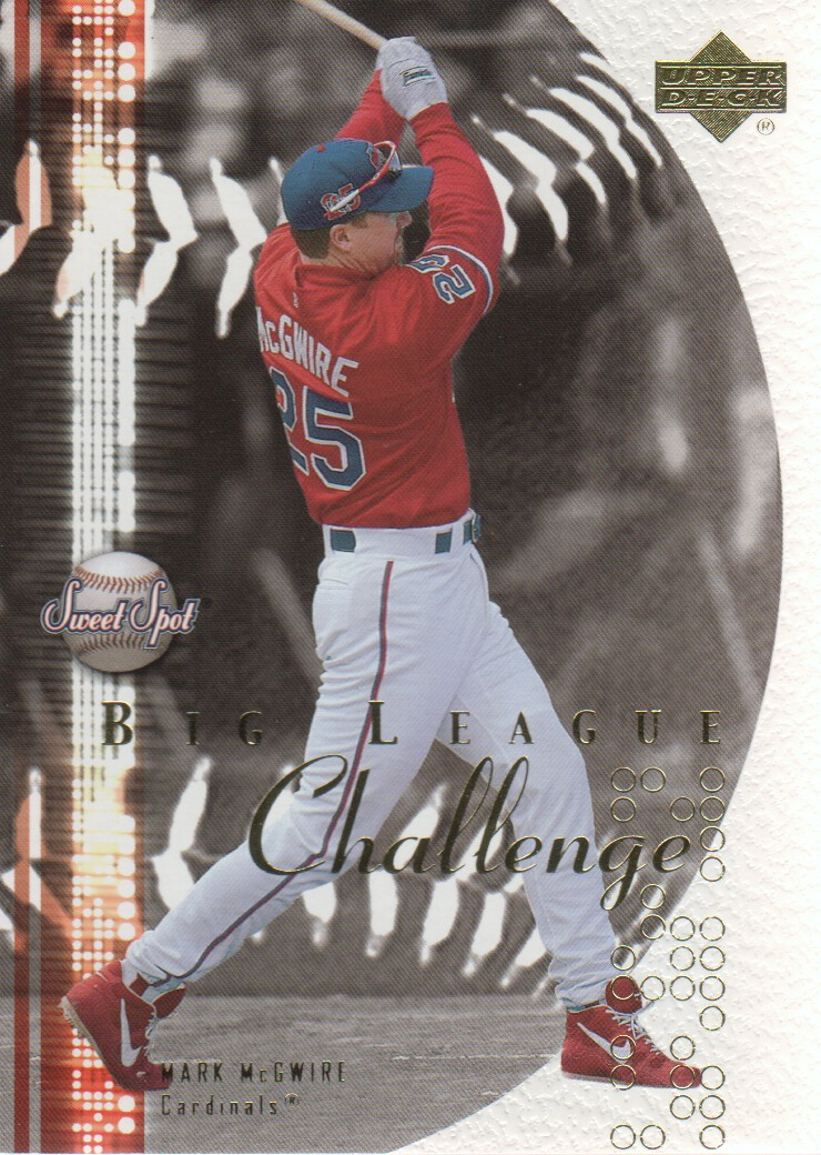 2001 Sweet Spot Big League Challenge #BL1 Mark McGwire