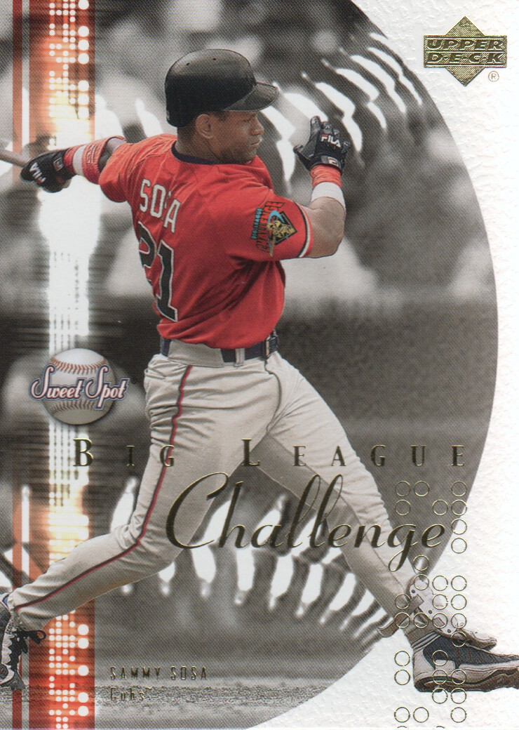 2001 Sweet Spot Big League Challenge #BL13 Sammy Sosa