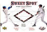 2001 Sweet Spot Game Base Duos #B1ST Sammy Sosa/Frank Thomas
