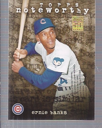 2001 Topps Noteworthy #TN40 Ernie Banks
