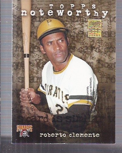 2001 Topps Noteworthy #TN45 Roberto Clemente