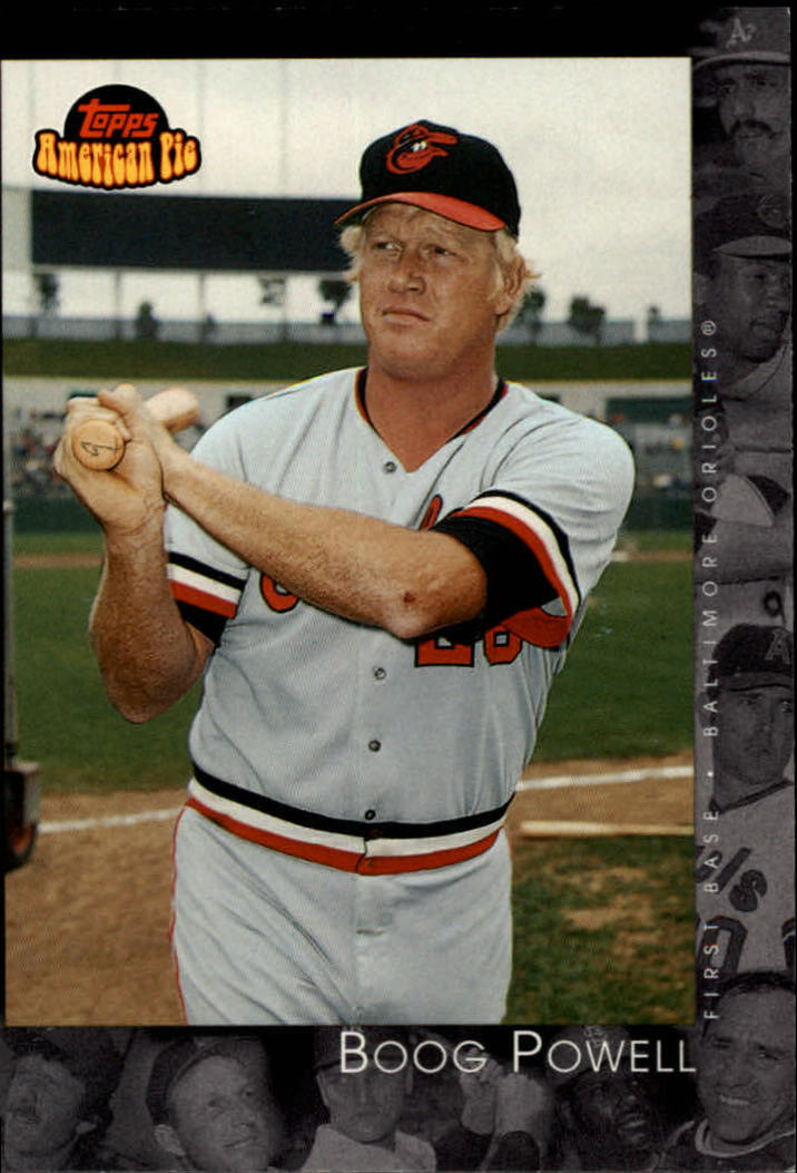 2001 Topps American Pie #12 Boog Powell