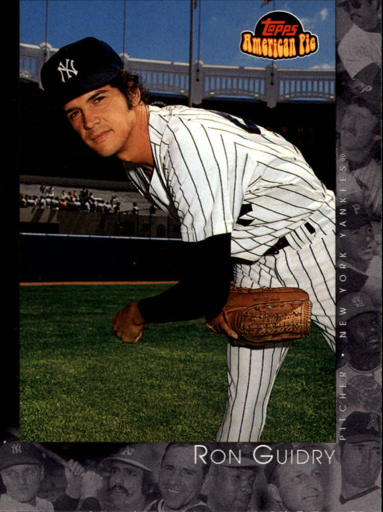2001 Topps American Pie #74 Ron Guidry