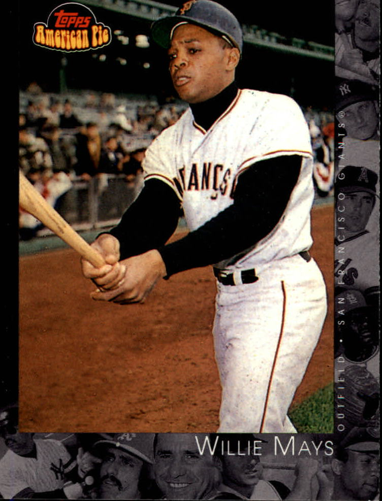 2001 Topps American Pie #91 Willie Mays