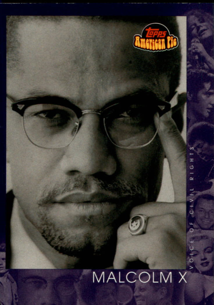 2001 Topps American Pie #150 Malcolm X