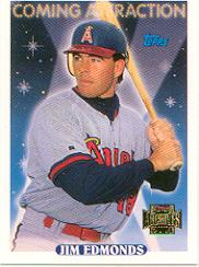 2001 Topps Archives Future Rookie Reprints #8 Jim Edmonds 93