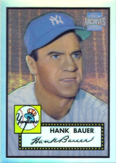 2001 Topps Archives Reserve #5 Hank Bauer 52