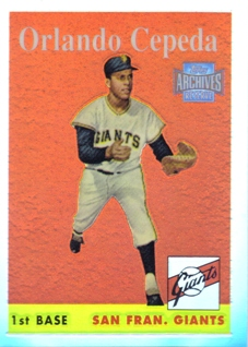 2001 Topps Archives Reserve #16 Orlando Cepeda 58