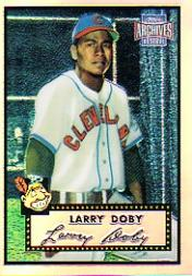2001 Topps Archives Reserve #21 Larry Doby 52