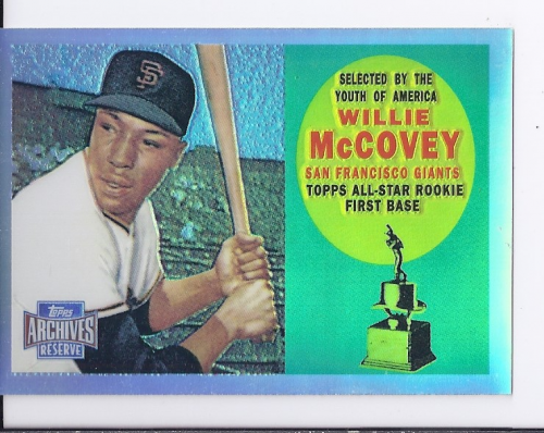 2001 Topps Archives Reserve #50 Willie McCovey 60