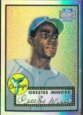 2001 Topps Archives Reserve #54 Minnie Minoso 52