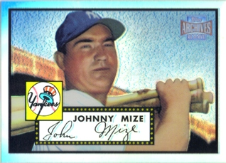 2001 Topps Archives Reserve #55 Johnny Mize 52