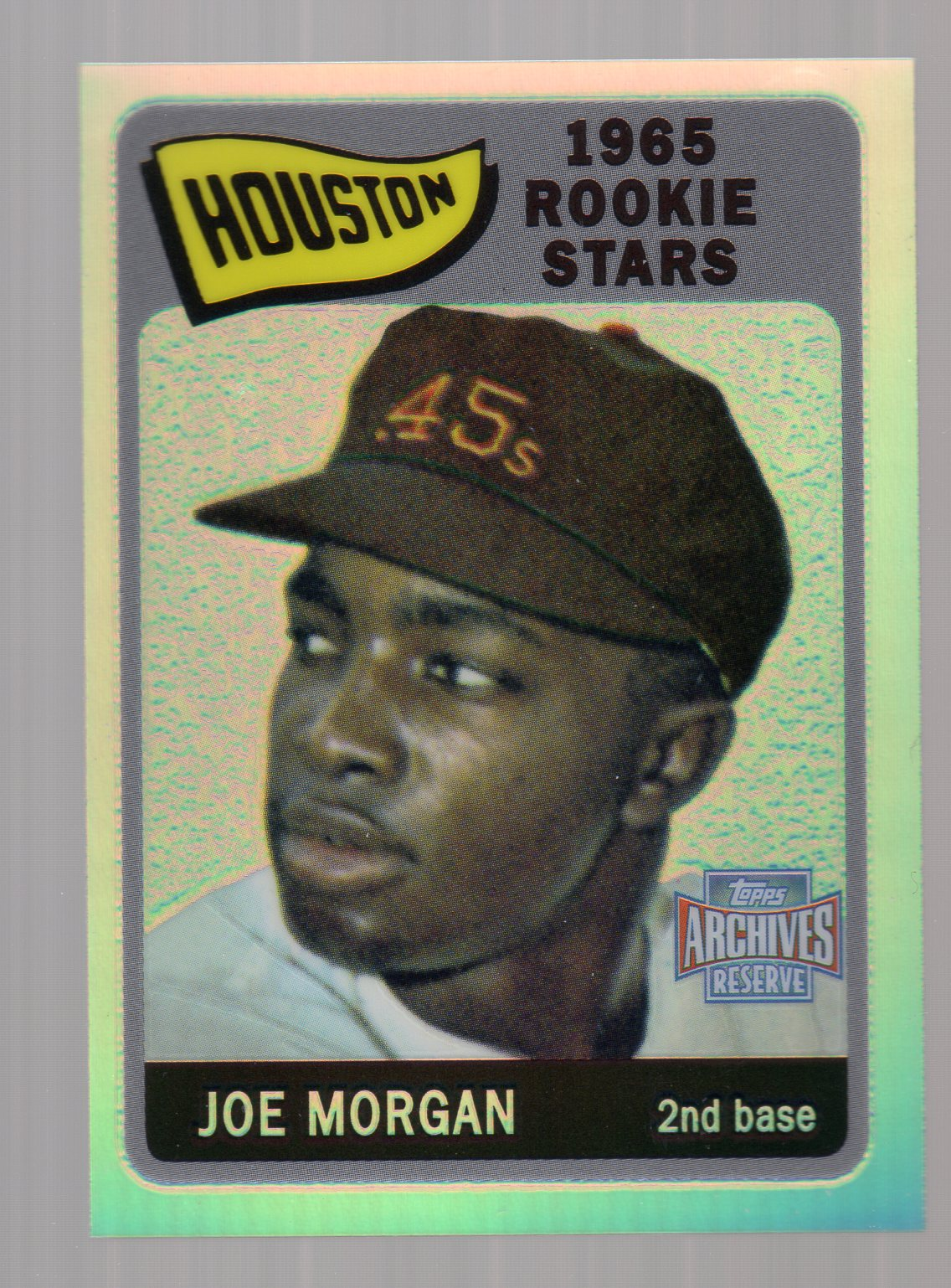 2001 Topps Archives Reserve #57 Joe Morgan 65