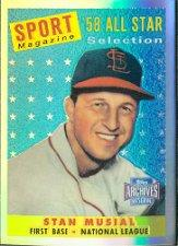 2001 Topps Archives Reserve #59 Stan Musial 58