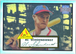 2001 Topps Archives Reserve #73 Red Schoendienst 52