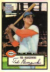 2001 Topps Archives Reserve #80 Ted Kluszewski 52