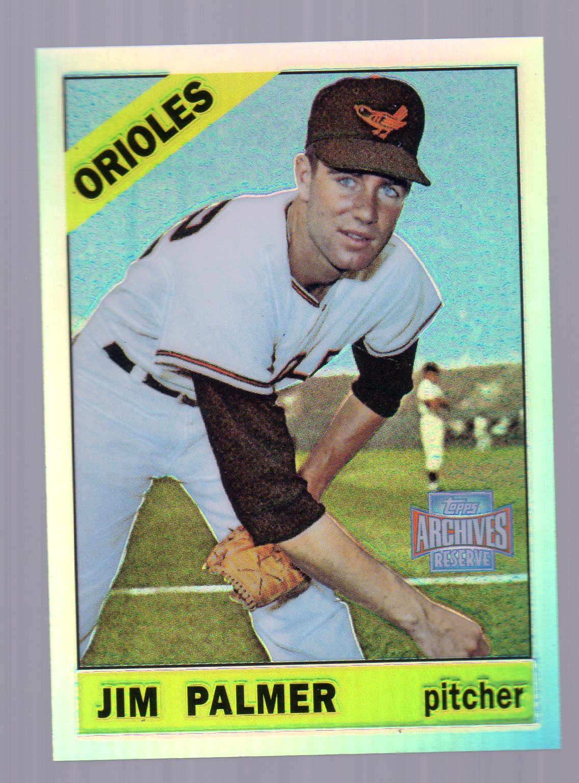 2001 Topps Archives Reserve #92 Jim Palmer 66