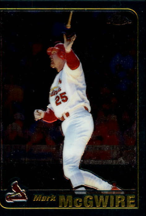 2001 Topps Chrome #38 Mark McGwire