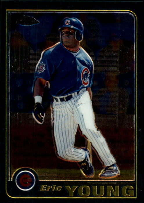 2001 Topps Chrome #40 Eric Young