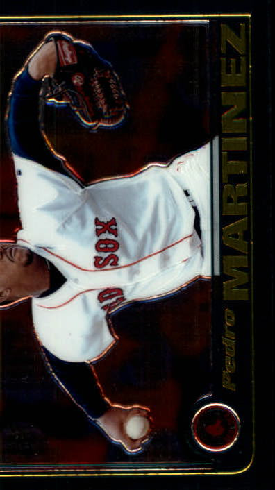 2001 Topps Chrome #45 Pedro Martinez