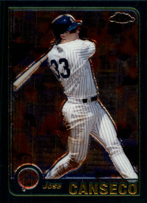 2001 Topps Chrome #46 Jose Canseco