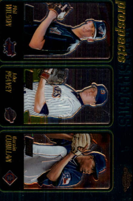 2001 Topps Chrome #598 Jake Peavy RC