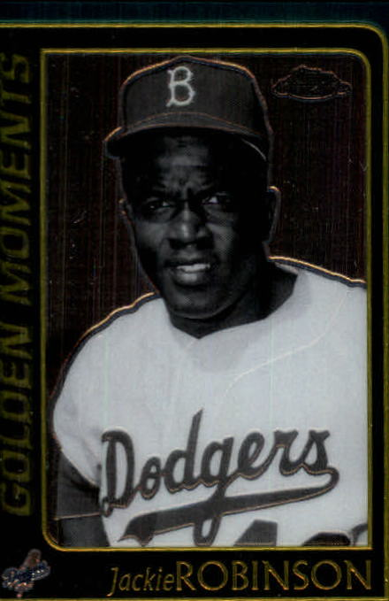 2001 Topps Chrome #653 Jackie Robinson GM