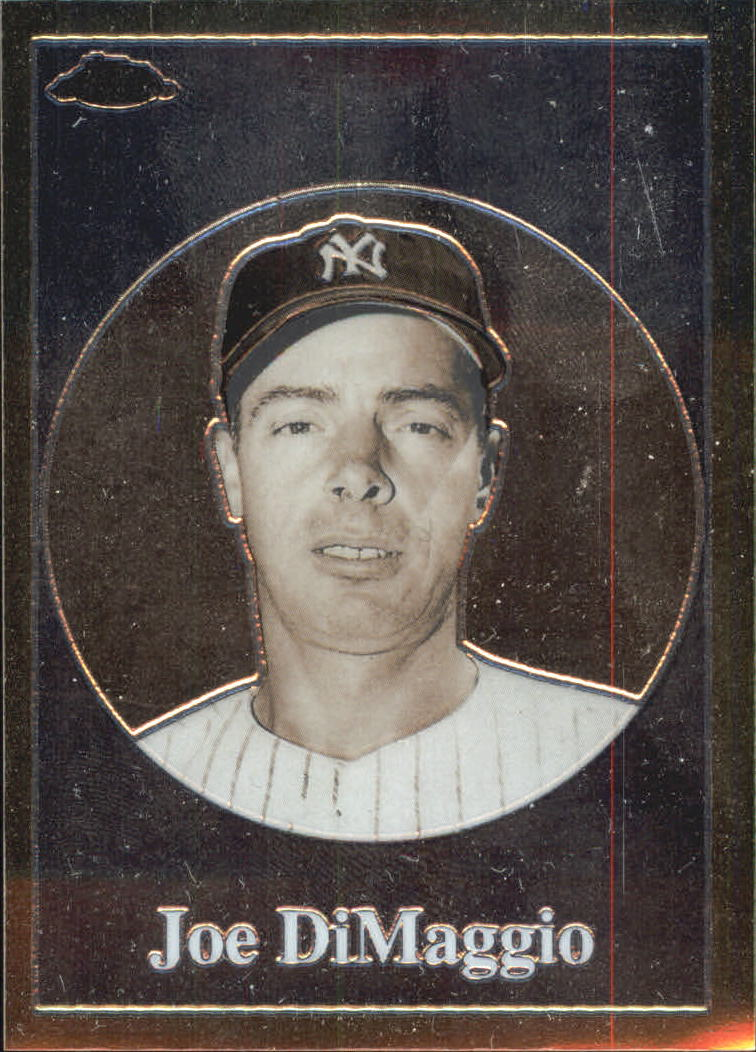 2001 Topps Chrome Before There Was Topps #BT10 Joe DiMaggio