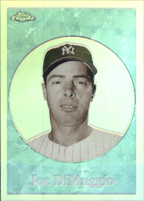 2001 Topps Chrome Before There Was Topps Refractors #BT10 Joe DiMaggio