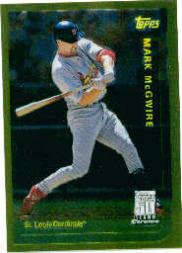 2001 Topps Chrome Through the Years Reprints #41 Mark McGwire 99