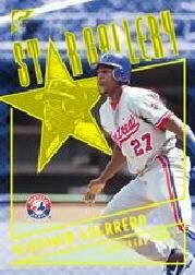 2001 Topps Gallery Star Gallery #SG1 Vladimir Guerrero