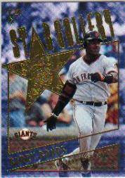 2001 Topps Gallery Star Gallery #SG9 Barry Bonds