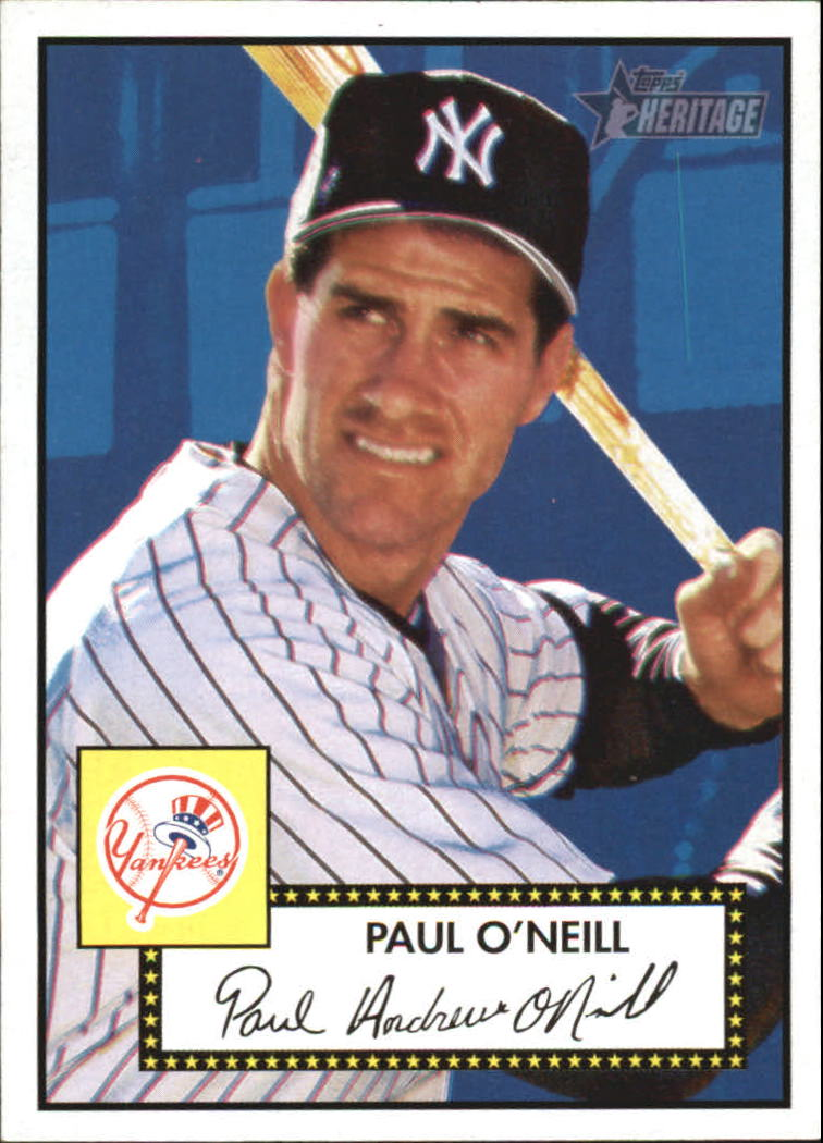 2001 Topps Heritage #6 Paul O'Neill