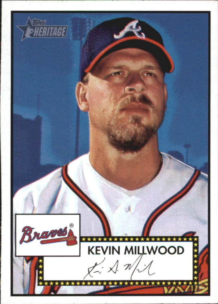 2001 Topps Heritage #9 Kevin Millwood
