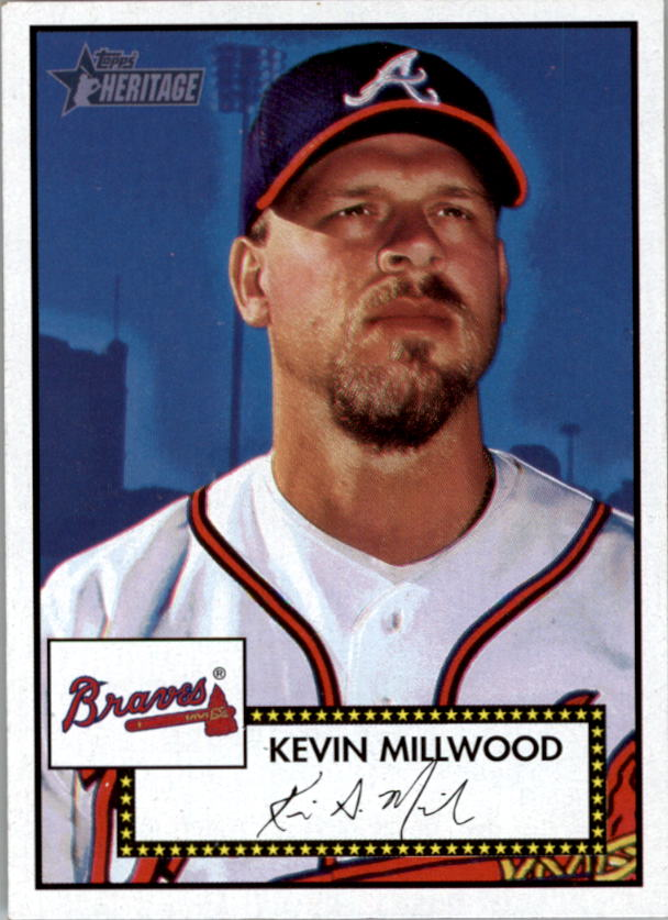 2001 Topps Heritage #9 Kevin Millwood Black