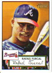 2001 Topps Heritage #30 Rafael Furcal Black