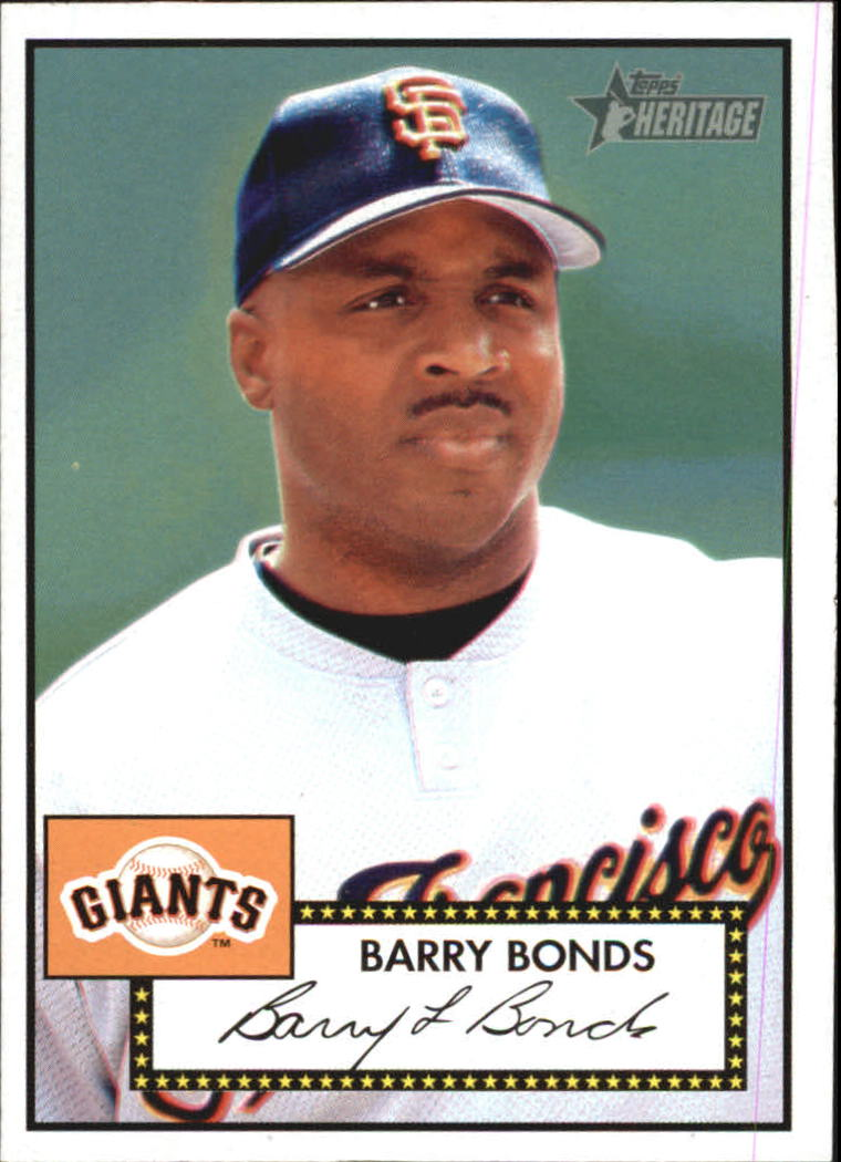 2001 Topps Heritage #31 Barry Bonds