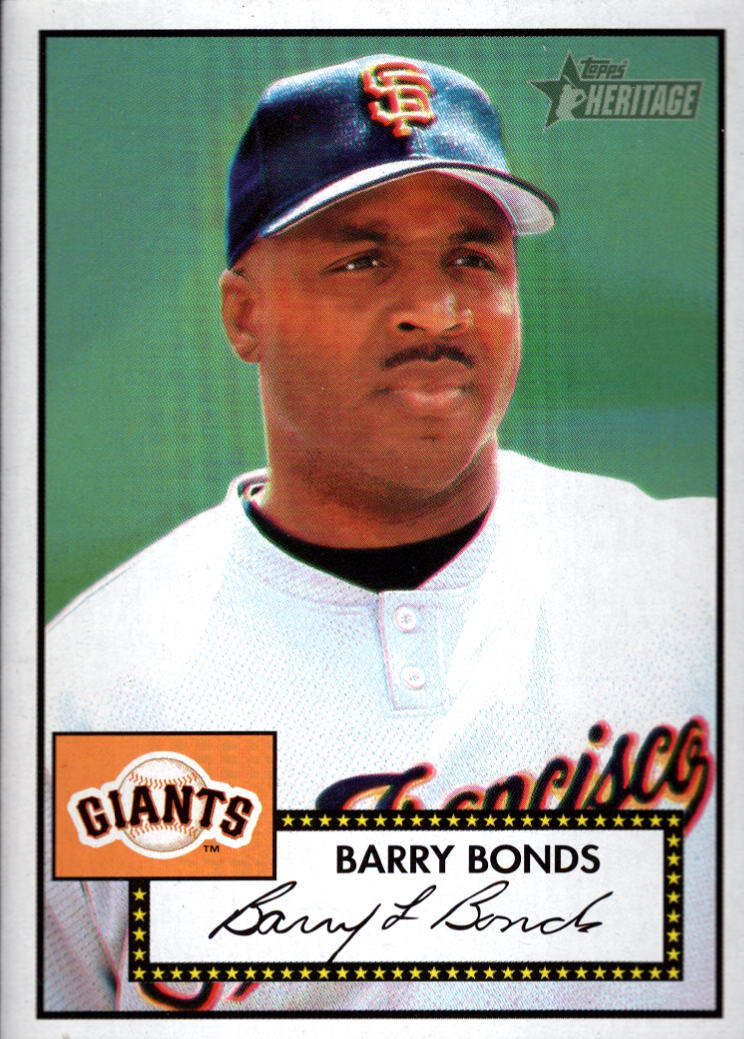2001 Topps Heritage #31 Barry Bonds Black