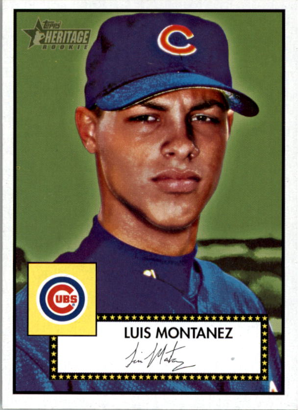 2001 Topps Heritage #95 Luis Montanez RC