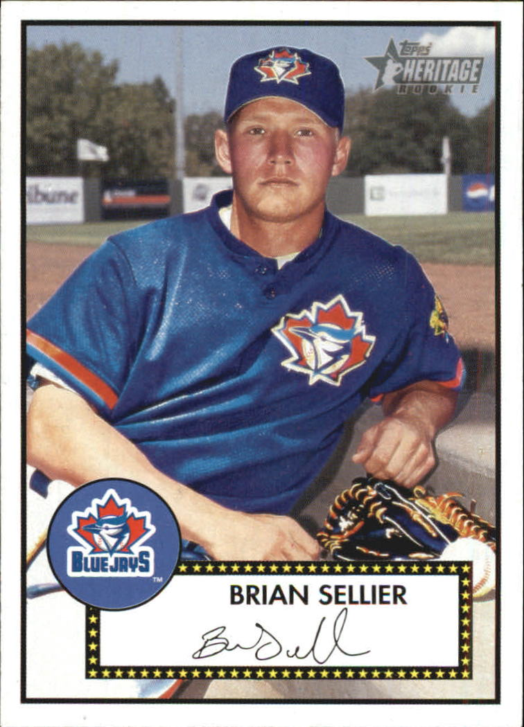 2001 Topps Heritage #119 Brian Sellier RC