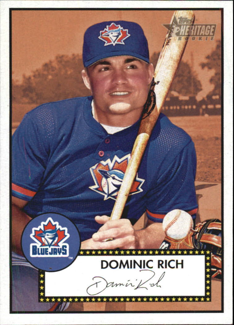 2001 Topps Heritage #172 Dominic Rich RC